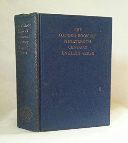 The Oxford Book of Nineteenth-Century English Verse: Hayward, John
