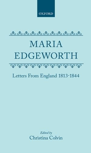 9780198124306: Letters from England 1813-1844