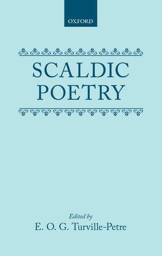 Scaldic Poetry.: TURVILLE-PETRE, E. O.