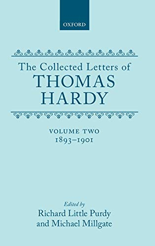 9780198126195: The Collected Letters of Thomas Hardy, Vol. 2: 1893-1901