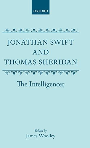 9780198126706: The Intelligencer