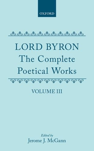 9780198127550: The Complete Poetical Works: Volume 3: 003