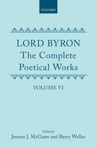 9780198127581: The Complete Poetical Works, Volume 6 (Oxford English Text Series)