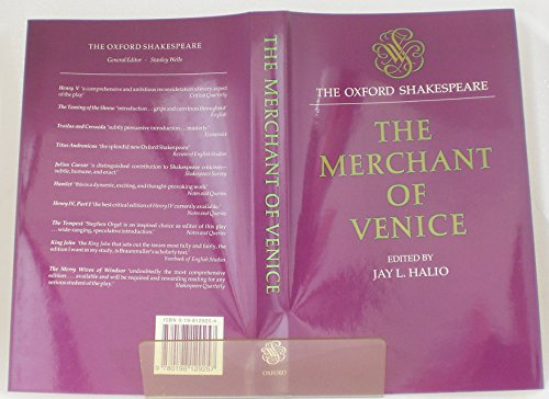 9780198129257: The Merchant of Venice (The Oxford Shakespeare)