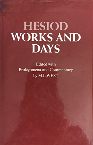 9780198140054: Work and Days: With Prolegomena and Commentary