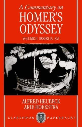 9780198140375: A Commentary on Homer's Odyssey: Introduction & Bks I-VIII (A.Heubeck, etc.) Tr.fr.Italian v.1: Introduction & Bks I-VIII (A.Heubeck, Etc.) Tr.fr.Italian Vol 1