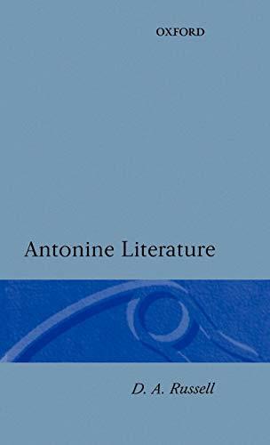 9780198140573: Antonine Literature