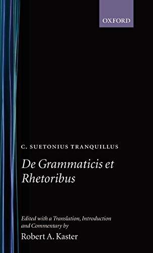 9780198140917: De Grammaticis et Rhetoribus