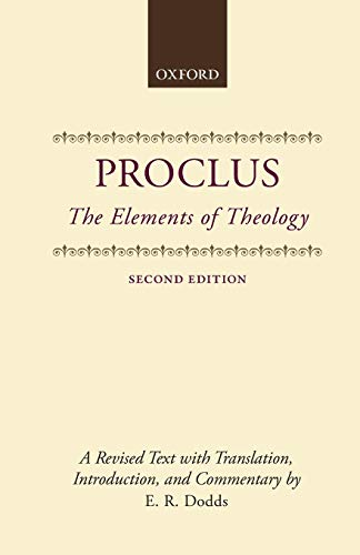 9780198140979: The Elements of Theology: A Revised Text with Translation, Introduction, and Commentary (Clarendon Paperbacks)
