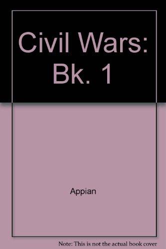 9780198141044: Civil Wars: Bk. 1