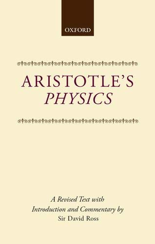 9780198141099: Aristotle's Physics: A Revised Text With Introduction and Commentary