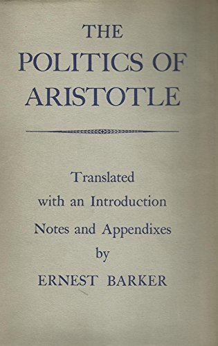 9780198141129: The Politics of Aristotle