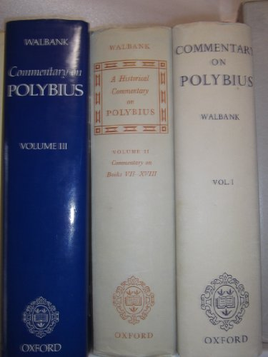 9780198141525: A Historical Commentary on Polybius: Commentary on Bks.1-6 v. 1