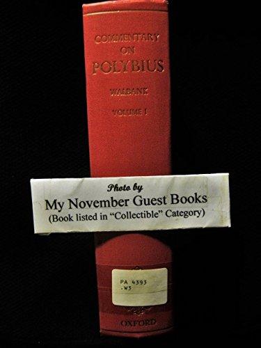 9780198141525: Historical Commentary on Polybius, Vol. 1: Commentary on Books 1-6 (Bks.1-6 v. 1)