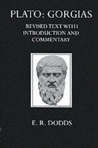9780198141532: Gorgias (Oxford University Press academic monograph reprints)