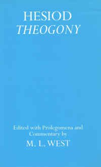HESIOD: THEOGONY Edited with Prolegomena and Commentary