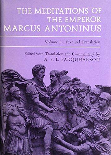 9780198141792: Meditations: v. 1 & 2 (Oxford Reprints)