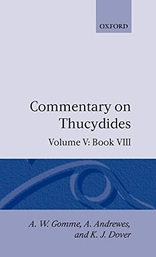 9780198141983: Commentary on Thucydides Volume 5. Book VIII