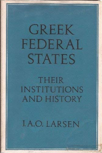 9780198142652: Greek Federal States