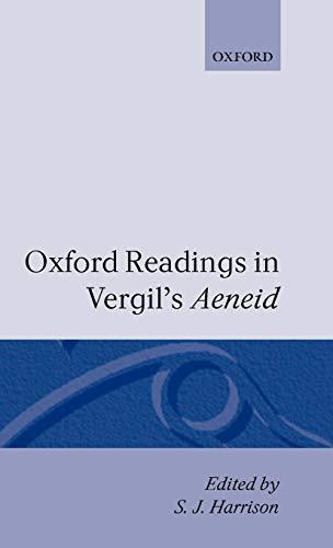 9780198143895: Oxford Readings in Vergil's Aeneid (Oxford Readings in Classical Studies (Hardcover))