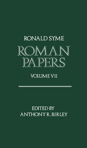 9780198144908: Roman Papers Volume VII: Vol 7