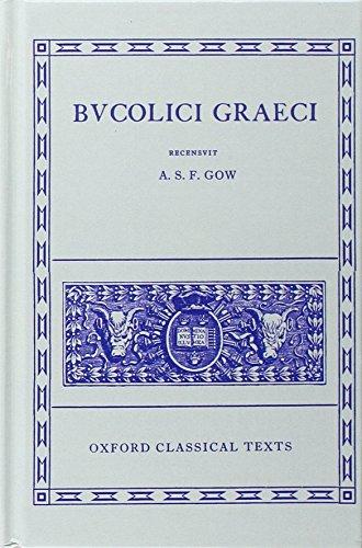 9780198145172: Bucolici Graeci (Oxford Classical Texts)