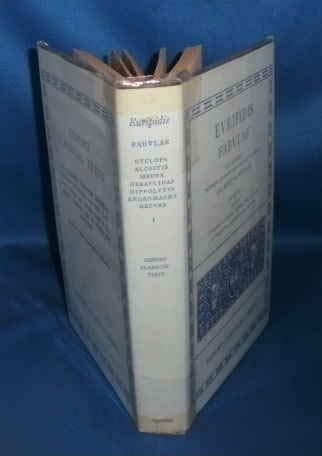 9780198145226: Euripidis Fabulae recognovit brevique adnotatione critica instruxit Gilbertus Murray Tomus I Insunt Cyclops, Alcestis, Medea, Heraclidae, Hippolytus, Andromacha, ... Texts) (Greek and Latin Edition) (v. 1)