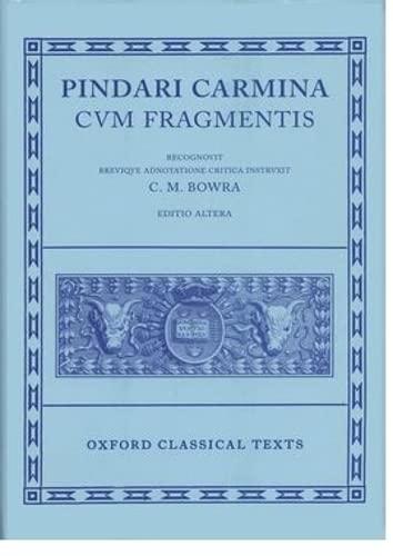 9780198145394: Pindar Carmina (Oxford Classical Texts)