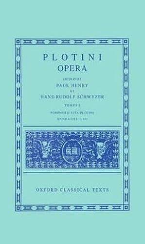 9780198145615: Plotinus I. Enneades I-III cum vita Porphyrii: 1