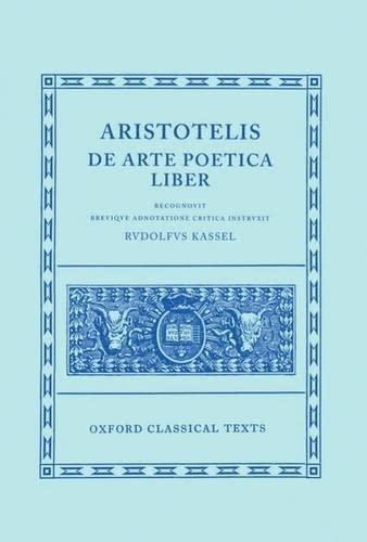 9780198145646: De Arte Poetica Liber (Oxford Classical Texts)