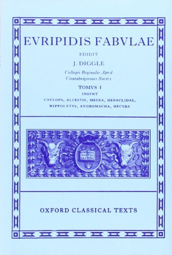 9780198145943: Euripides Fabulae: Vol. I: (Cyc., Alc., Med., Heracl., Hip., And., Hec.): (Cyc., Alc., Med., Heracl., Hip., And., Hec) Vol 1 (Oxford Classical Texts)