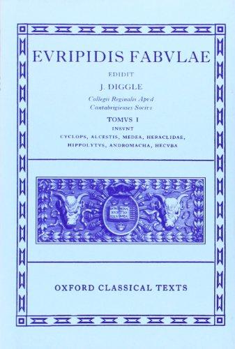 9780198145943: Euripides Fabulae: Vol. I: (Cyc., Alc., Med., Heracl., Hip., And., Hec.): 001