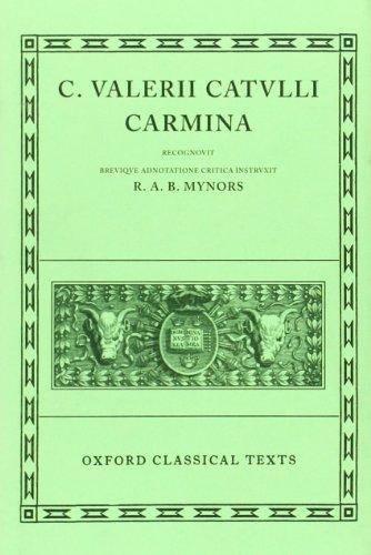9780198146049: Carmina (Oxford Classical Texts)