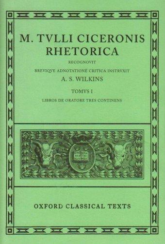 9780198146155: Rhetorica: Volume I: Libros de Oratore Tres (Oxford Classical Texts)