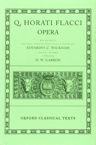 9780198146186: Opera (Latin Edition)
