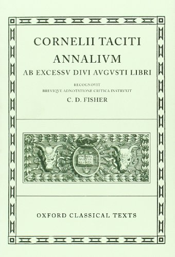 9780198146339: Tacitus Annales (Oxford Classical Texts)