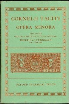 9780198146353: Cornelii Taciti: Opera Minora.