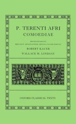 9780198146360: Comoediae: Andria, Heauton Timorumenos, Eunuchus, Phormio, Hecyra, Adelphoe (Oxford Classical Texts Series) (Latin Edition)