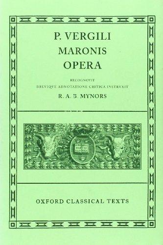 9780198146537: Virgil Opera (Oxford Classical Texts)
