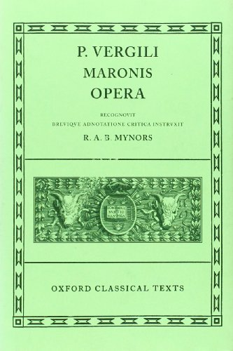 9780198146537: Virgil Opera (Oxford Classical Texts)
