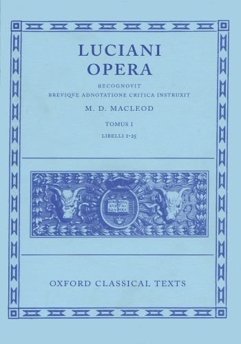 9780198146568: 1: Opera: Volume I: Books I-XXV (Oxford Classical Texts)
