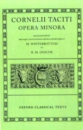 9780198146582: Opera Minora (Oxford Classical Texts) (Latin Edition)