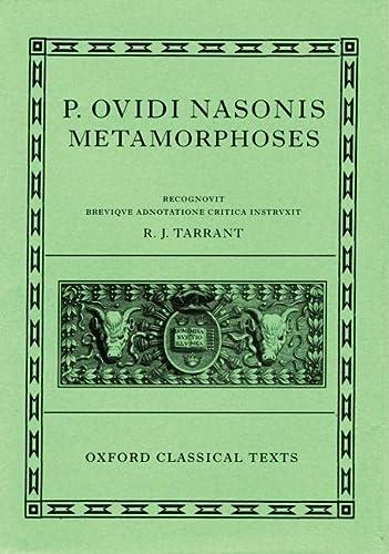 9780198146667: Metamorphoses (Oxford Classical Texts) (Latin Edition)