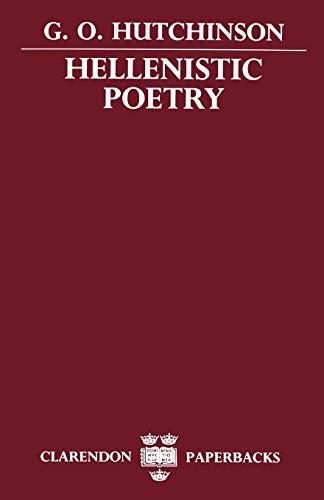 9780198147480: Hellenistic Poetry (Clarendon Paperbacks)
