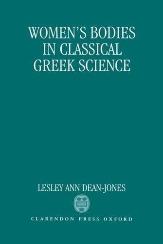 9780198147671: Women's Bodies in Classical Greek Science