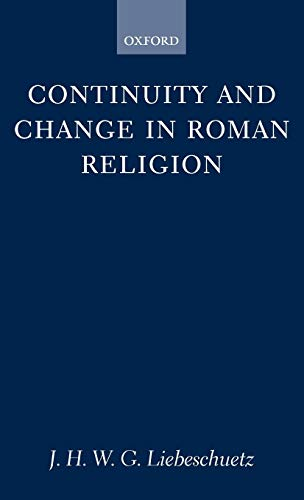 9780198148227: Continuity and Change in Roman Religion (Oxford University Press Academic Monograph Reprints)