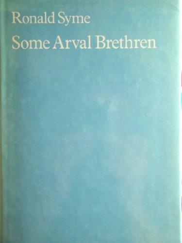 9780198148319: Some Arval Brethren