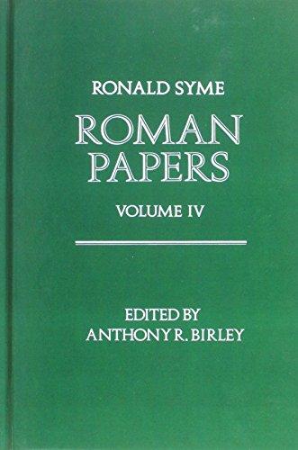 9780198148739: Roman Papers: Volume IV