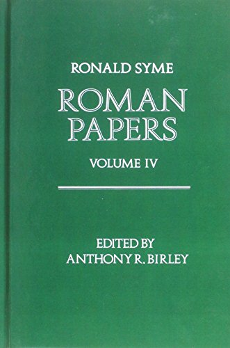 9780198148739: Roman Papers: V.4