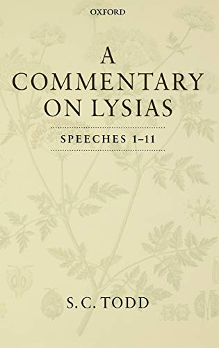9780198149095: A Commentary on Lysias, Speeches 1-11